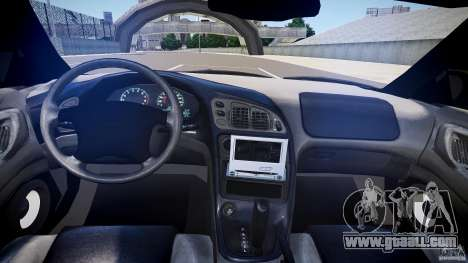 Mitsubishi Eclipse for GTA 4 side view