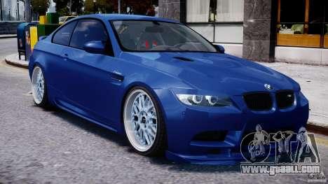BMW M3 Hamann E92 for GTA 4 side view