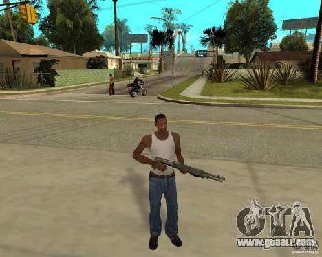 Weapons of STALKERa for GTA San Andreas third screenshot