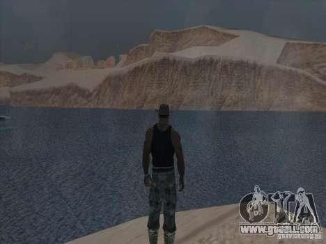 Beautiful clouds and more for GTA San Andreas sixth screenshot