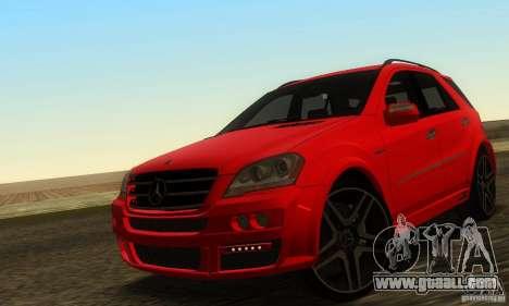 Mercedes-Benz ML63 AMG Brabus for GTA San Andreas