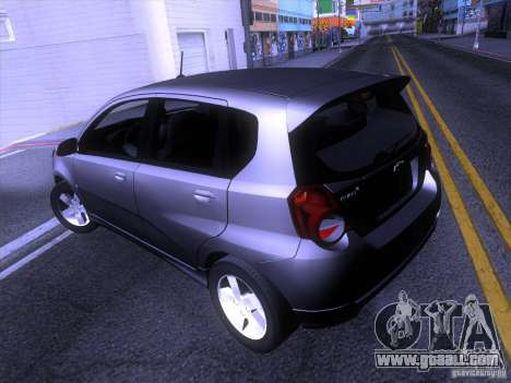 Chevrolet Aveo LT for GTA San Andreas back left view