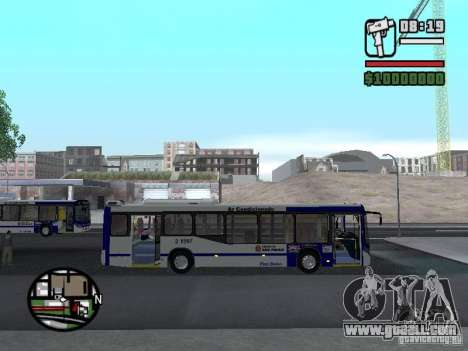 Busscar Urbanuss Ecoss MB 0500U Sambaiba for GTA San Andreas back view