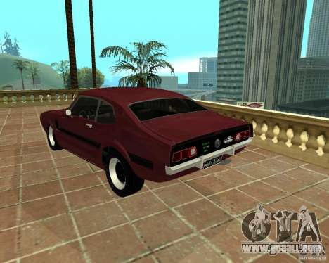 Ford Maverick GT 1977 for GTA San Andreas back left view