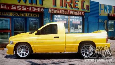Dodge Ram SRT-10 2003 1.0 for GTA 4 inner view