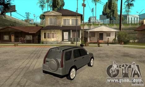Honda CRV (MK2) for GTA San Andreas right view