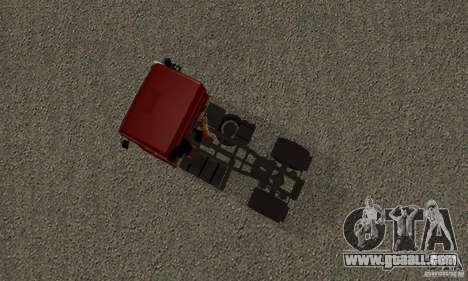 KAMAZ 5460 Skin 2 for GTA San Andreas back view