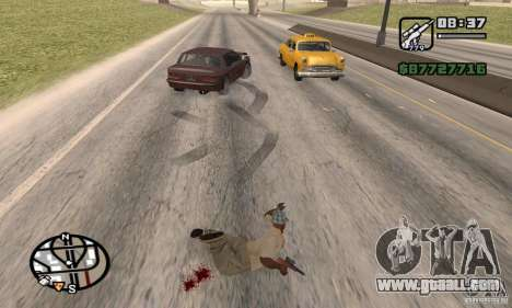 The loss of lives in the crash for GTA San Andreas forth screenshot