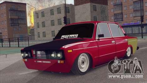 VAZ 2106 Hobo for GTA San Andreas