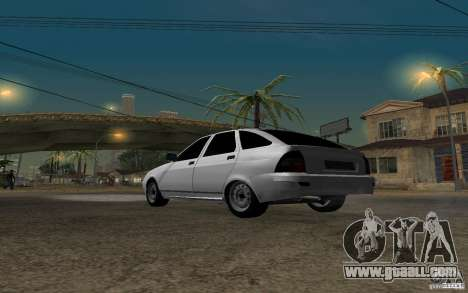 LADA priora light tuning hatchback for GTA San Andreas back left view