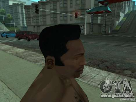 THE NEW FACE OF CJ for GTA San Andreas seventh screenshot
