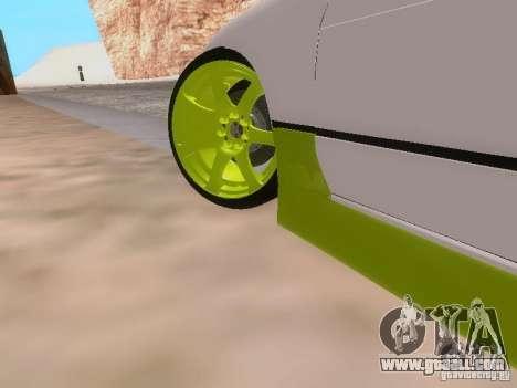 Nissan Silvia S13 Drift Style for GTA San Andreas interior