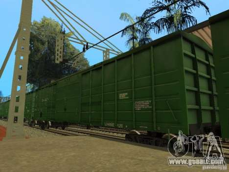 RAILROAD modification III for GTA San Andreas ninth screenshot