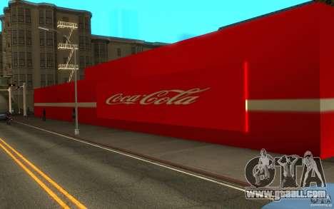 Coca Cola Market for GTA San Andreas second screenshot
