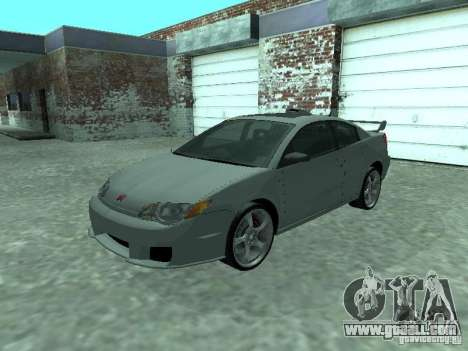 Saturn Ion Quad Coupe 2004 for GTA San Andreas upper view