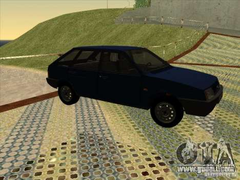 Vaz 2109 Drain V2 for GTA San Andreas back left view