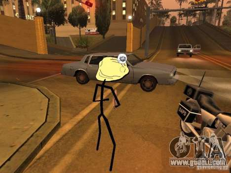 Meme Ivasion Mod for GTA San Andreas tenth screenshot