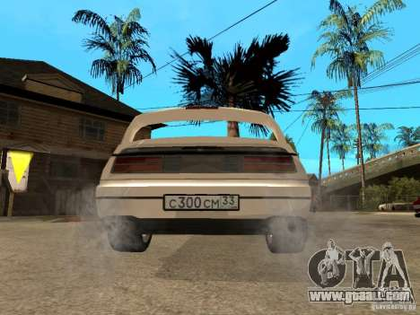 Nissan 300 ZX for GTA San Andreas back left view