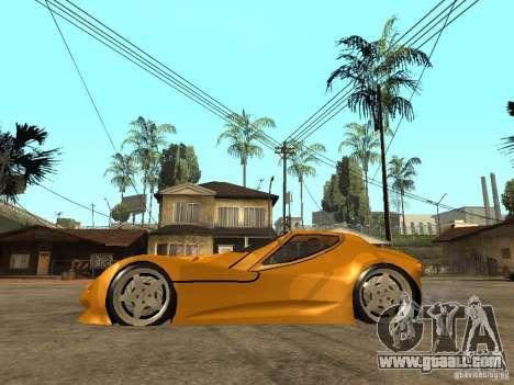Gillet Vertigo for GTA San Andreas left view