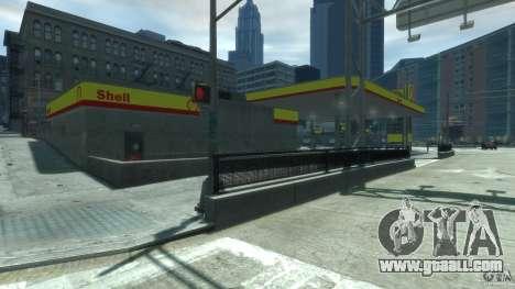 Shell Petrol Station V2 Updated for GTA 4 third screenshot