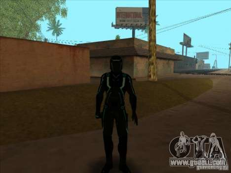 A character from the game Tron: Evolution for GTA San Andreas forth screenshot