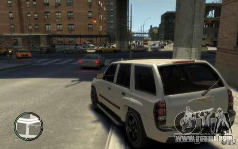 Chevrolet TrailBlazer v.1 for GTA 4 back left view