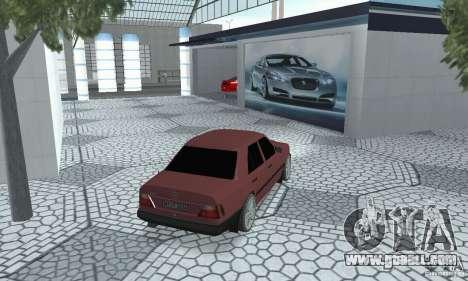 Mercedes-Benz 200D for GTA San Andreas