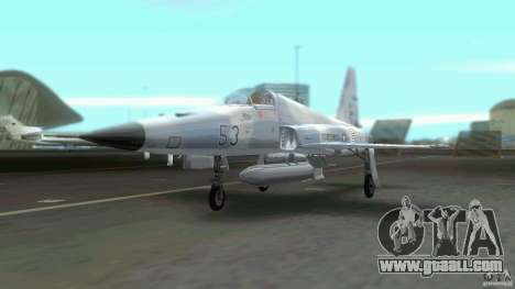 US Air Force for GTA Vice City right view