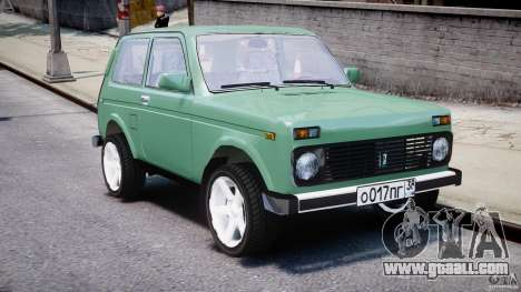 Vaz-21214 Niva (Lada 4 x 4) for GTA 4 side view