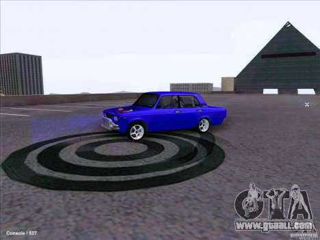 ВАЗ 2107 Drift for GTA San Andreas back left view