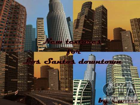 New Downtown skyscrapers texture for GTA San Andreas fifth screenshot