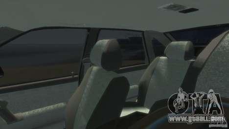 VAZ-2112 for GTA 4 back view