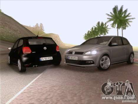 Volkswagen Polo GTI 2011 for GTA San Andreas side view