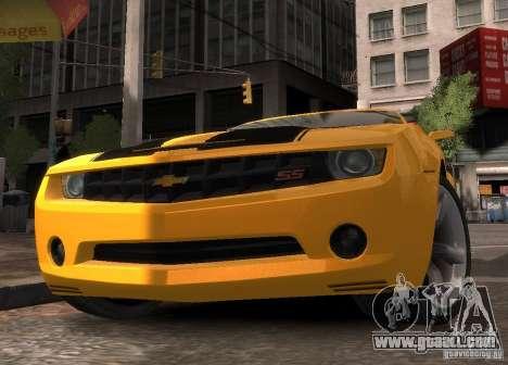 Chevrolet Camaro concept 2007 for GTA 4 right view