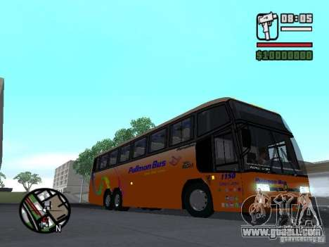 Marcopolo Paradiso GV 1150 Volvo B10M for GTA San Andreas back view