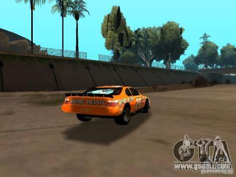 Toyota Camry Nascar Edition for GTA San Andreas right view