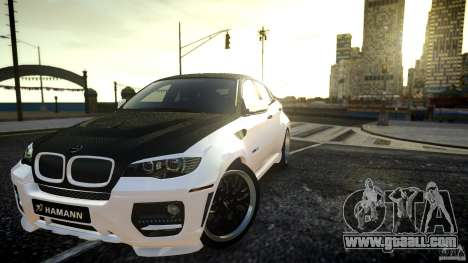 BMW X 6 Hamann for GTA 4