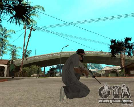 AUG HBAR with with an eye for GTA San Andreas third screenshot