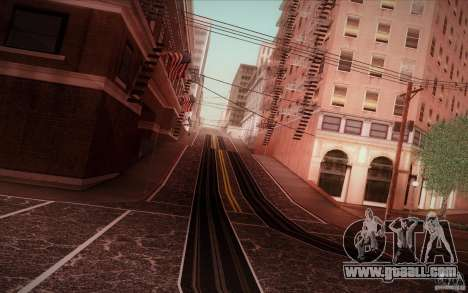 New roads San Fierro for GTA San Andreas forth screenshot