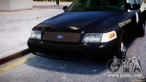 Ford Crown Victoria Florida Highway Patrol Units for GTA 4 bottom view