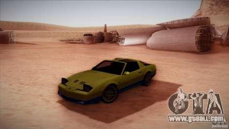 Pontiac Firebird Trans Am for GTA San Andreas