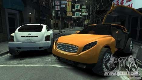 Infiniti Triant Concept for GTA 4 left view