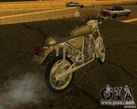 Honda Dream 50 for GTA San Andreas left view