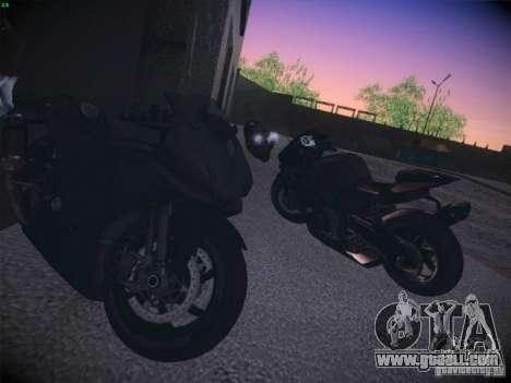 Aprilia RSV4 for GTA San Andreas right view