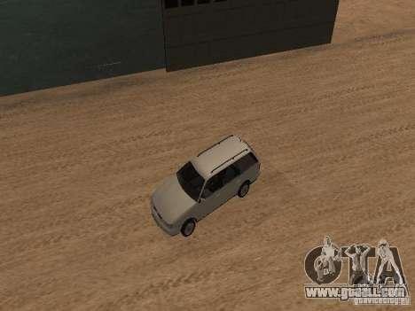 Volkswagen Passat B4 for GTA San Andreas upper view