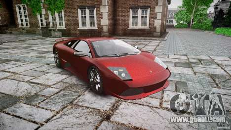 Lamborghini Murcielago v1.0b for GTA 4