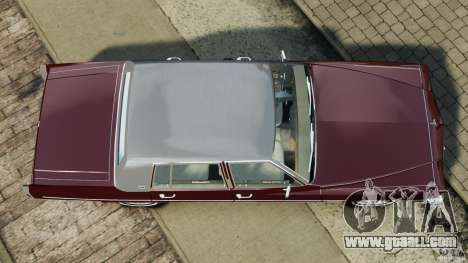 Cadillac Fleetwood Brougham Delegance 1986 for GTA 4 back view