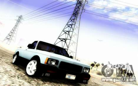 GMC Syclone Stock for GTA San Andreas side view