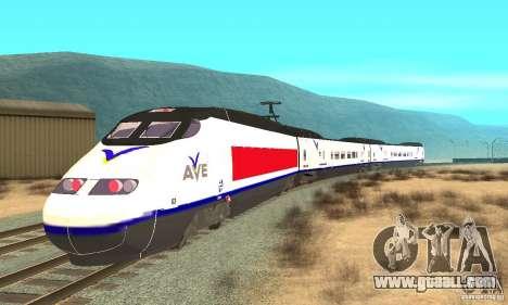 Express Train for GTA San Andreas