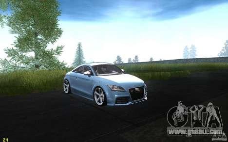 Audi TT RS for GTA San Andreas